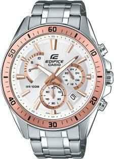 Casio Edifice EFR-552D-7AVUDF (EX357) Analog White Dial Men's Watch