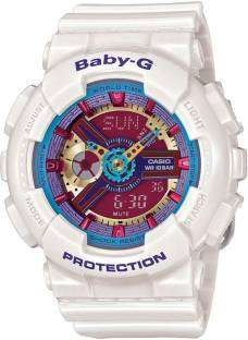 Casio Baby-G BA-112-7ADR Analog-Digital Watch