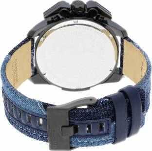 Diesel DZ4397 Ironside Blue & Black Chronograph Men's Watch (DZ4397)