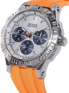 Guess W0966G1 Turbo White Dial Men's Watch (W0966G1)