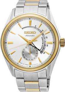 Seiko SSA306J1 Analog White Dial Men's Watch (SSA306J1)