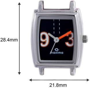 Maxima 38847LMLI Analog Black Dial Women's Watch (38847LMLI)