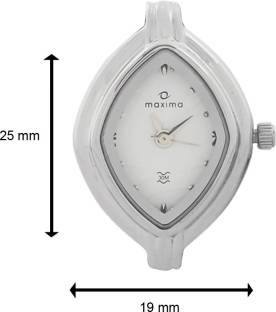 Maxima 10185BMLI Analog White Dial Women's Watch (10185BMLI)