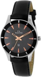 Maxima 41283LMLI Analog Black Dial Women's Watch (41283LMLI)