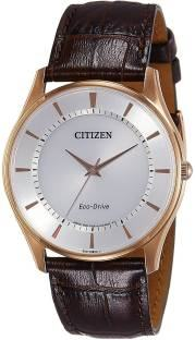 Citizen Eco-Drive BJ6483-01A Analog White Dial Men's Watch (BJ6483-01A)