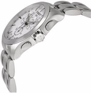 Tissot T035.617.11.031.00 Analogue White Dial Men's Watch (T035.617.11.031.00)