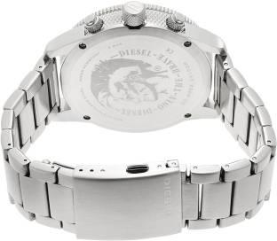 Diesel DZ4452 Silver-Toned Chronograph Men's Watch (DZ4452)