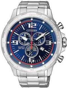 Citizen AN7120-87L Chronograph Blue Dial Men's Watch