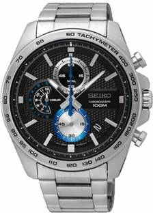 Seiko SSB257P1 Analog Black Dial Men's Watch (SSB257P1)