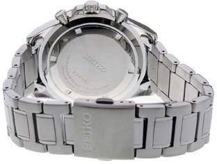 Seiko SSB241P1 Dress Analog White Dial Men's Watch (SSB241P1)