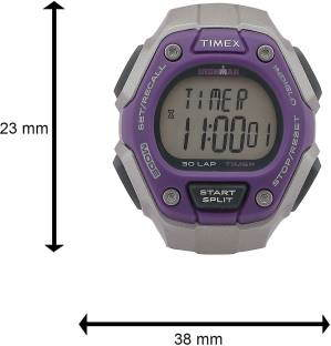 Timex TW5K89500 Black & Grey Digital Watch (TW5K89500)