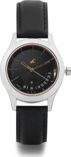 Fastrack 6165SL01 Analog Brown Dial Women's Watch