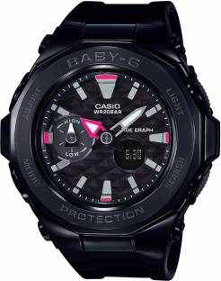 Casio Baby-G BGA-225G-1ADR (B193) Analog Digital Black Dial Women's Watch (BGA-225G-1ADR (B193))