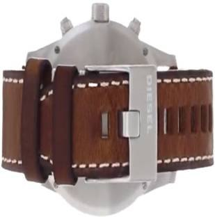 Diesel DZ4443 Rasp Brown Blue Chronograph Men's Watch (DZ4443)