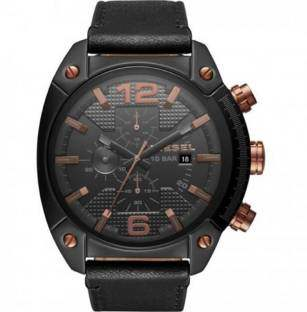 Diesel DZ4462 Gunmetal-Toned Chronograph Men's Watch (DZ4462)