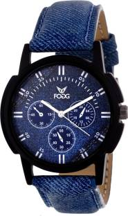 Fogg 1118-BL Analog Blue Dial Men's Watch (1118-BL)