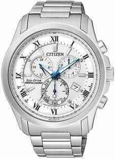 Citizen BL5540-53A Analog White Dial Men's Watch