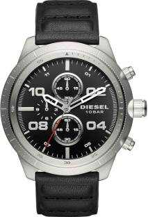Diesel DZ4439 Analog Padlock Black Dial Men's Watch
