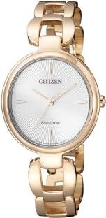 Citizen EM0423-81A Analog White Dial Women's Watch (EM0423-81A)