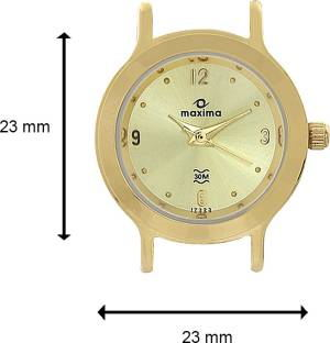 Maxima 17323CMLY Analog Gold Dial Women's Watch (17323CMLY)