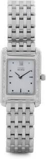 Citizen Eco-Drive EG3020-57A Analog White Dial Women's Watch (EG3020-57A)