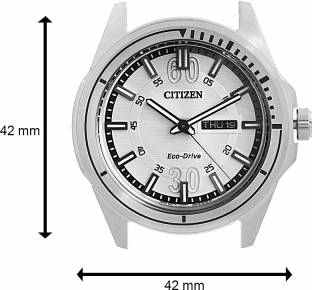 Citizen Eco-Drive AW0030-55A Analog White Dial Men's Watch