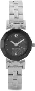 Sonata NH8943SM01CJ Analog Black Dial women's Watch