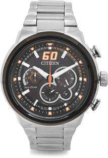 Citizen CA4134-55E Sport Eco-Drive Chronograph Orange 45 mm Men's Watch (CA4134-55E)