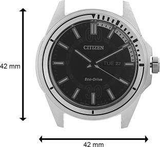 Citizen Eco-Drive AW0030-55E Analog Black Dial Men's Watch