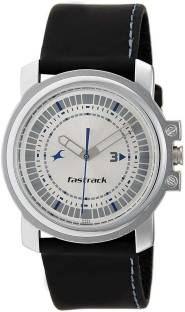 Fastrack NJ3039SL01C Quartz Silver Round Men's Watch