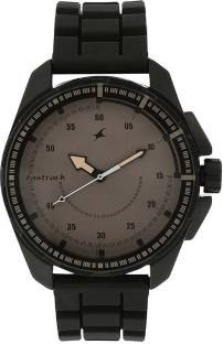 Fastrack NJ3084NP01C Commando Analog Brown Dial Men's Watch