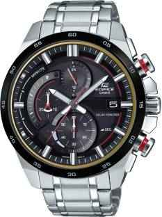 Casio Edifice EX378 (EQS-600DB-1A4UDF) Analog Black Dial Men's Watch (EX378 (EQS-600DB-1A4UDF))