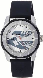 Fastrack NJ3099SP01C Silver Toned Analogue Men's Watch