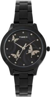 Timex TW000T609 Analog Black Dial Women's Watch (TW000T609)