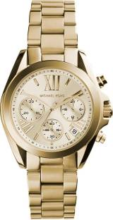 be7453a1ff8e Michael Kors MK5798 Gold Toned Dial Chronograph Women s Watch ...