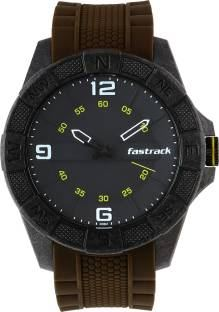 Fastrack 38032PP03J Analog Black Dial Men's Watch