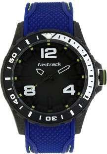 Fastrack 38036PP02J Analog Black Dial Unisex Watch