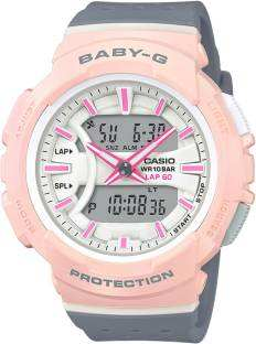 Casio Baby-G BX094 (BGA-240-4A2DR) Analog-Digital White Dial Women's Watch