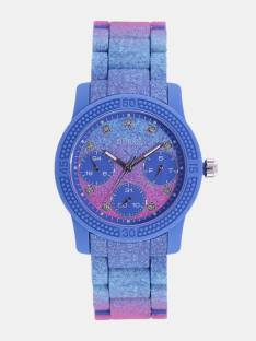 Guess W0944L2 Blue Dial Multi Function Women's Watche