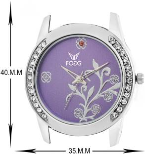 Fogg 4038-PR purple analog Dial Women's Watch