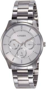 Citizen AG8351-51A Analog White Dial Unisex Watch (AG8351-51A)