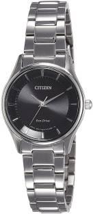 Citizen EM0401-59E Analog Black Dial Women's Watch
