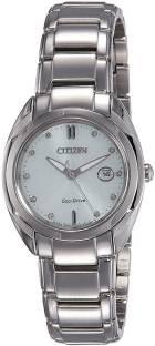 Citizen EM0310-61A Analog White Dial Women's Watch (EM0310-61A)