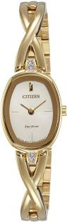 Citizen EX1412-82P Analog Gold Dial Women's Watch (EX1412-82P)