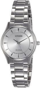 Citizen EM0401-59A Analog White Dial Women's Watch (EM0401-59A)