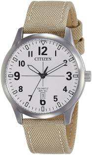 Citizen BI1050-05A Analog White Dial Men's Watch