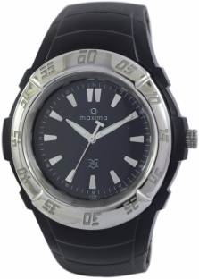 Maxima 44122PPGW Analog Black Dial Men's Watch (44122PPGW)
