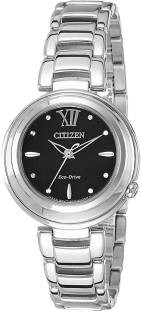 Citizen EM0331-52E Analog Black Dial Women's Watch (EM0331-52E)