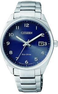 Citizen EO1170-51L Analog Blue Dial Unisex Watch (EO1170-51L)