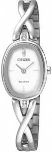 Citizen EX1410-88A Analog White Dial Women's Watch (EX1410-88A)